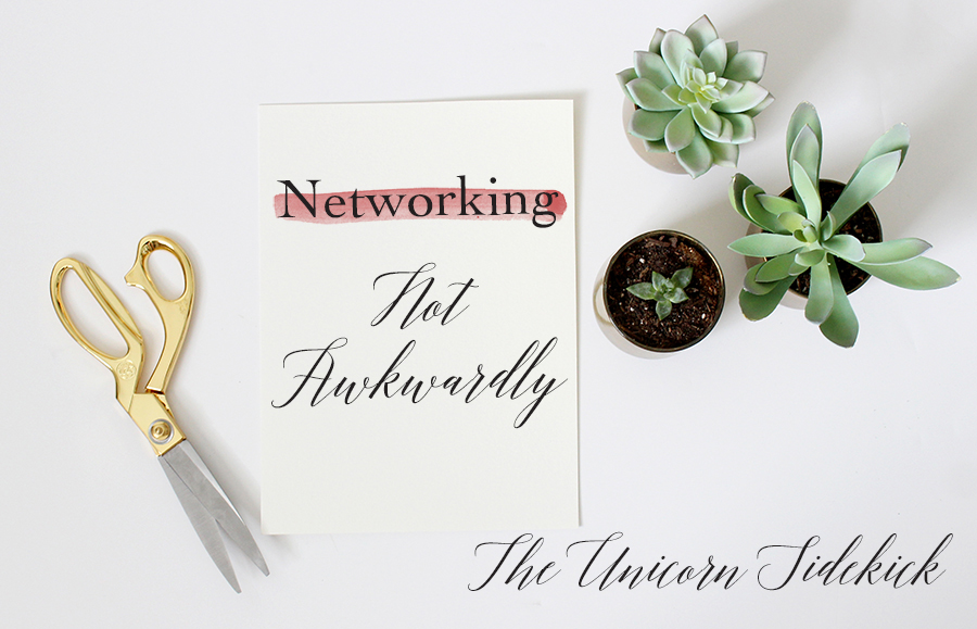 Networking Not Awkwardly